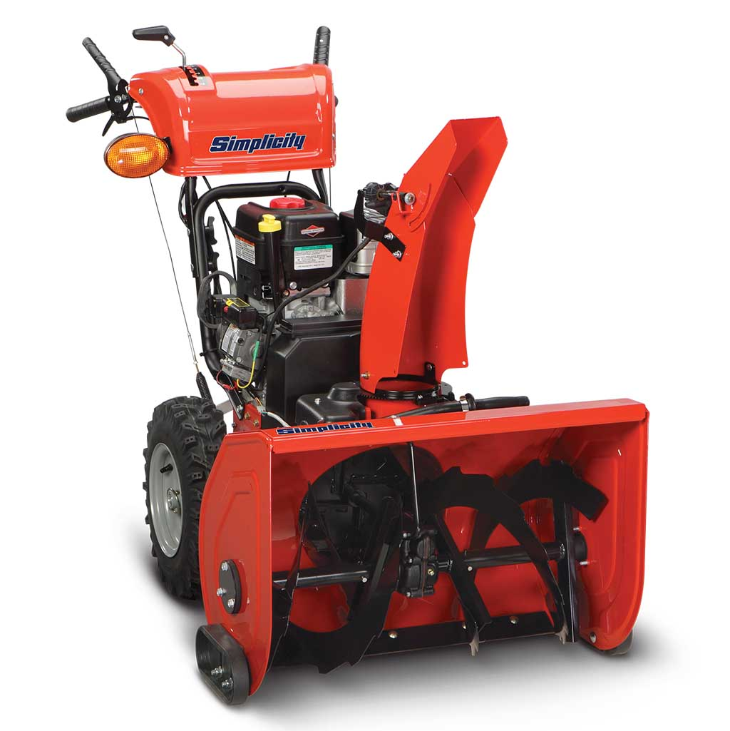 Heavy-Duty Two-Stage Snow Blowers