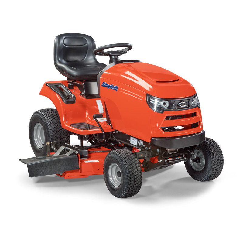 Angle view of Regent™ lawn tractor