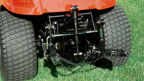 3 Point Hitch Attachment Category 1 Modified