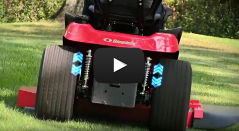 Next Level Mowing Comfort