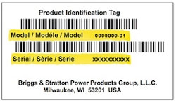 Simplicity Model Number Tag