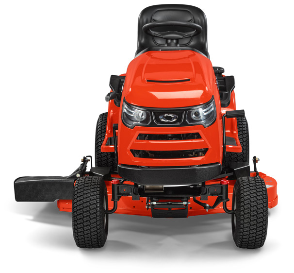 Simplicity tractor included the Free Floating Mower deck