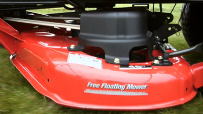 Free Floating mower deck close up