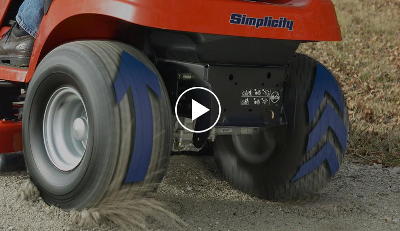 Big Tires On Garden Tractor : Lawn tractors