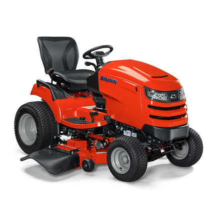 Angle view of Broadmoor™ lawn tractor