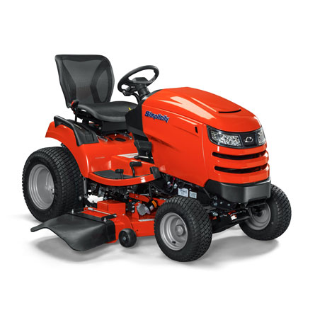 Angle view of Conquest™ lawn tractor