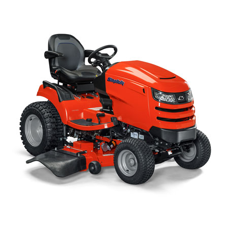 Angle view of Prestige™ lawn tractor