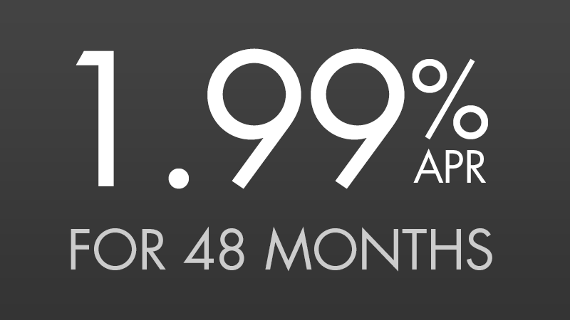 1.99% for 48 Months [2.31604% APR*]