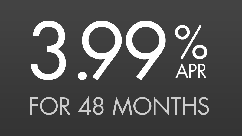 Mow Now, Pay Later, 3.99% for 48 Mos [3.44940% APR*]