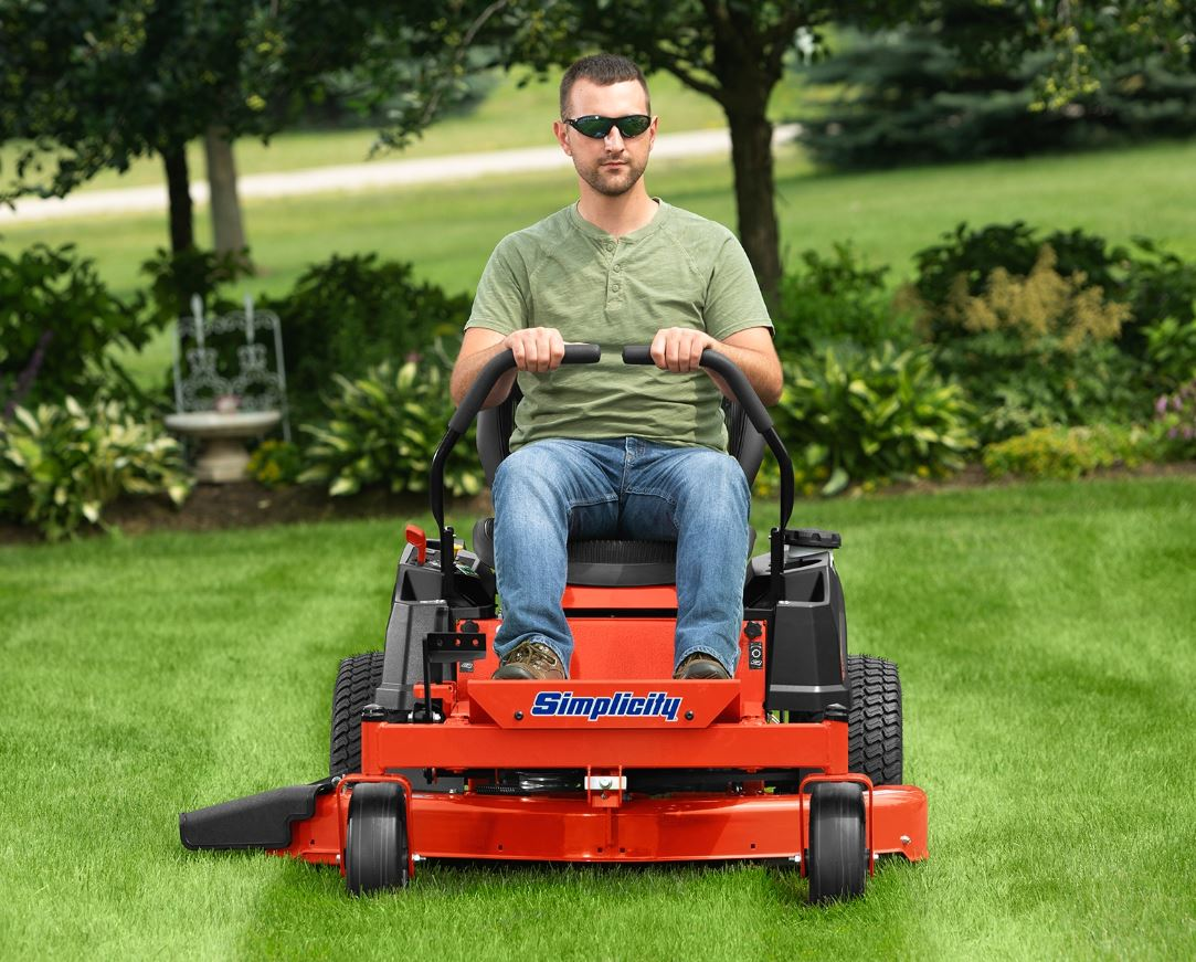 Embody a premium mowing experience with Simplicity tractors