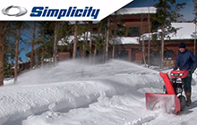 Simplicity Dual-Stage Snowblower Features