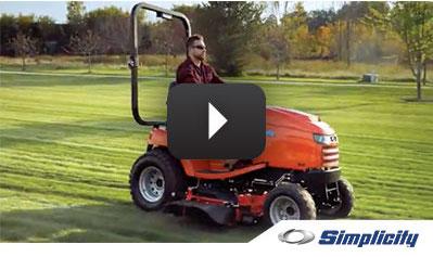 Legacy XLu0026#8482; Subcompact Garden Tractor | Simplicity Mowers